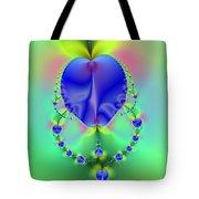 Blue Apples  Tote Bag