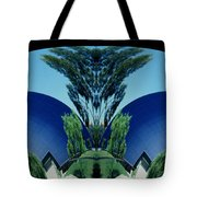 Blue Arches Tote Bag
