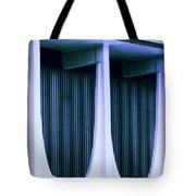 Blue Bank Tote Bag