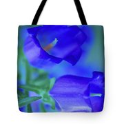 Blue Bell Flowers Tote Bag