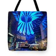 Blue Berlin Tote Bag