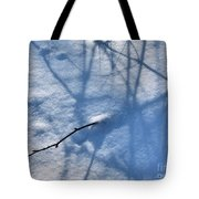 Blue Blackberry Shadows Tote Bag