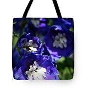 Blue Blossoms Tote Bag