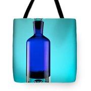 Blue Bottle Tote Bag by Michelle Wiarda