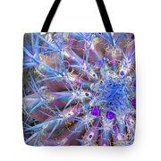 Blue Cactus Tote Bag