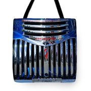 Blue Chevy Pick-up Grill Tote Bag