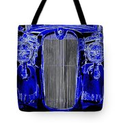Blue Coupe Tote Bag