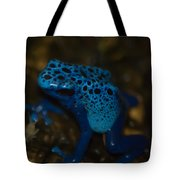 Blue Dart Frog Tote Bag