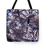 Blue Decoration Light Tote Bag