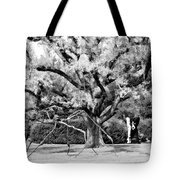 Blue Dog And The Spider Infrared Tote Bag