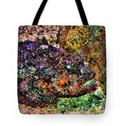 Blue Eyed Fish Tote Bag