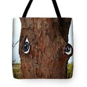 Blue Eyed Pine Tote Bag