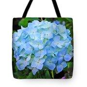 Blue Garden Flower Tote Bag