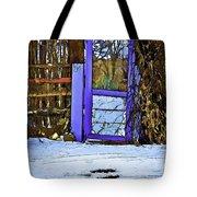 Blue Gate #24 Tote Bag