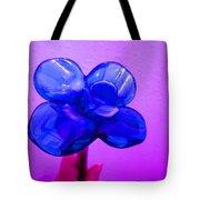 Blue Glass Purple Wall Pink Hand Tote Bag