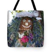 Blue Hair Bride Tote Bag