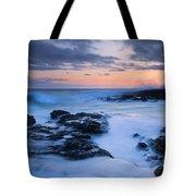 Blue Hawaii Sunset Tote Bag