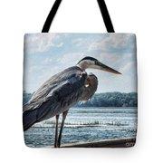Blue Heron 1 Tote Bag