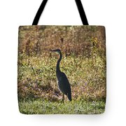 Blue Heron At Valley Forge Tote Bag