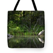 Blue Heron Long Pond Wmnf Tote Bag