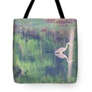 Blue Heron6 Tote Bag