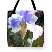 Blue Iris Tote Bag