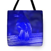 Blue Jay Has The Blues Tote Bag