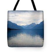 Blue Lake Mcdonald Tote Bag
