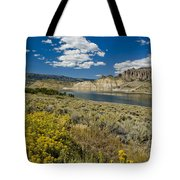 Blue Mesa Reservoir - V Tote Bag