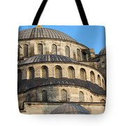 Blue Mosque Domes Tote Bag