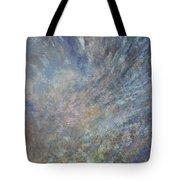 Blue Nebula #1 Tote Bag