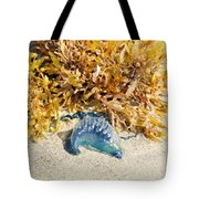 Blue On The Beach Tote Bag