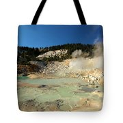 Blue Pools And Funaroles Tote Bag