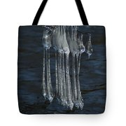 Blue Return Tote Bag