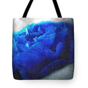 Blue Rose Tote Bag