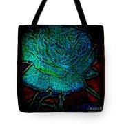 Blue Rose II Tote Bag