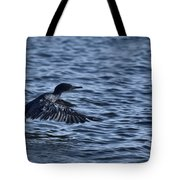 Blue Runway Tote Bag