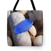 Blue Sea Glass Tote Bag
