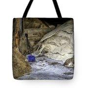 Blue Shovel Tote Bag