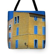 Blue Shutters Martigues France Tote Bag
