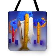 Blue Singers Tote Bag
