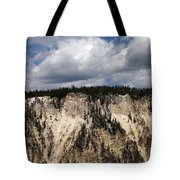 Blue Skies And Grand Canyon In Yellowstone Tote Bag