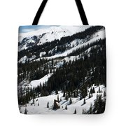 Blue Sky Miners Cabin Tote Bag