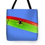 Blue Sky Paraglider Tote Bag