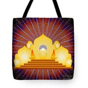 Blue Sun Temple 2012 Tote Bag