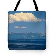 Blue Tahoe Tote Bag