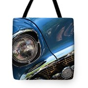 Blue Thunder - Classic Antique Car- Detail Tote Bag