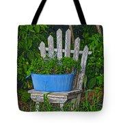 Blue Tub Tote Bag