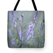 Blue Vervain Tote Bag by Priska Wettstein