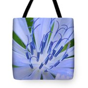 Blue Wild Flower Tote Bag